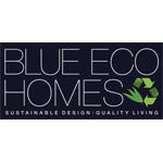 Blue eco homes logo