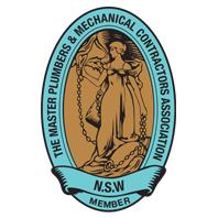 Master plumbers association logo